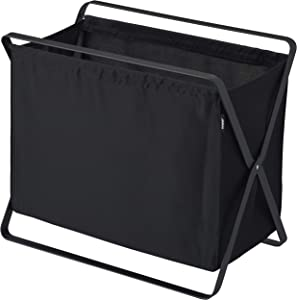 YAMAZAKI home Tower Storage Hamper Black