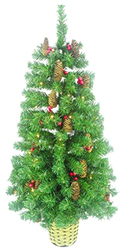 Wall Mounted Half Christmas Tree 4ft/1.2m restricted space ...