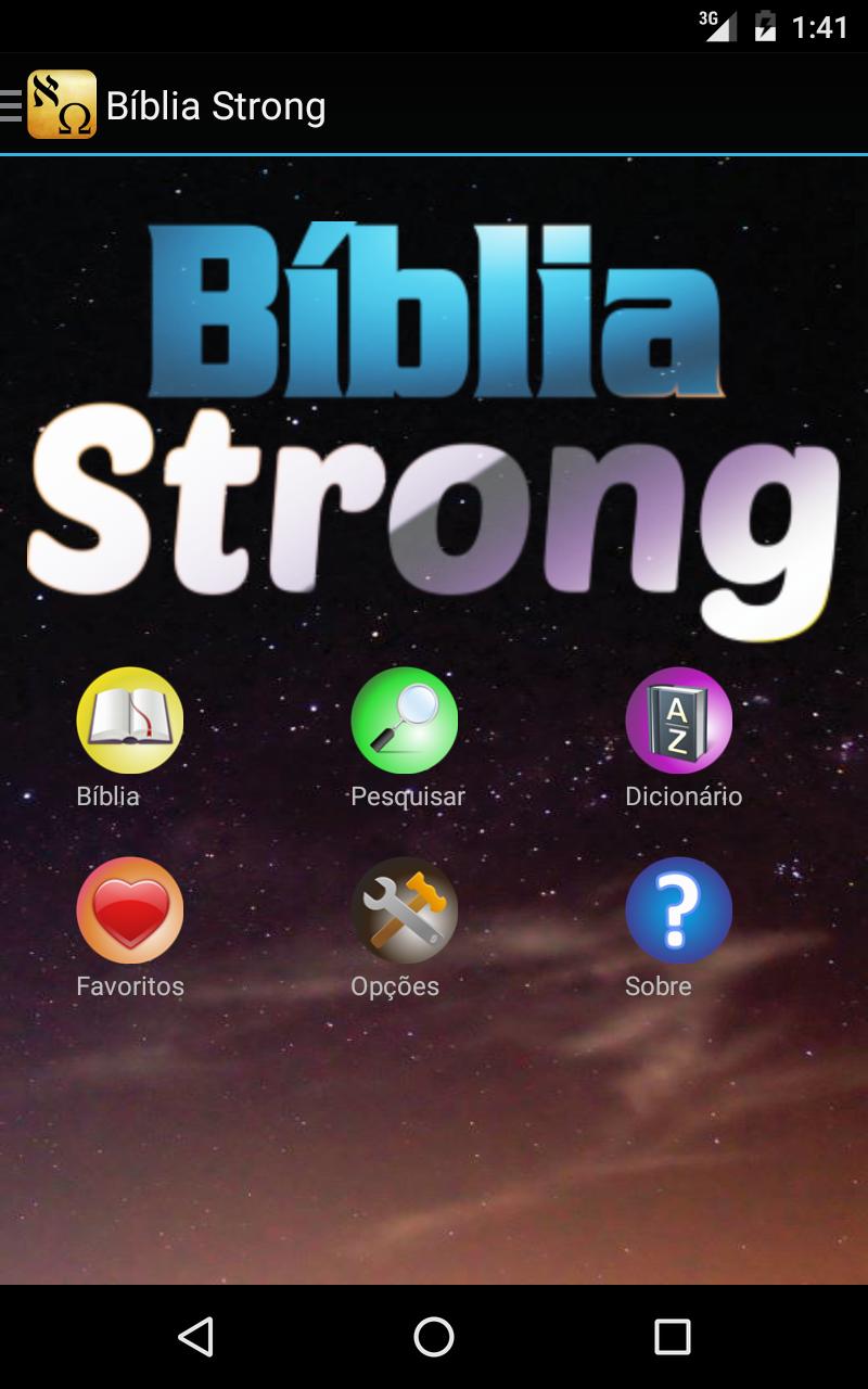 Bíblia Strong em Português: Amazon.com.br: Amazon Appstore