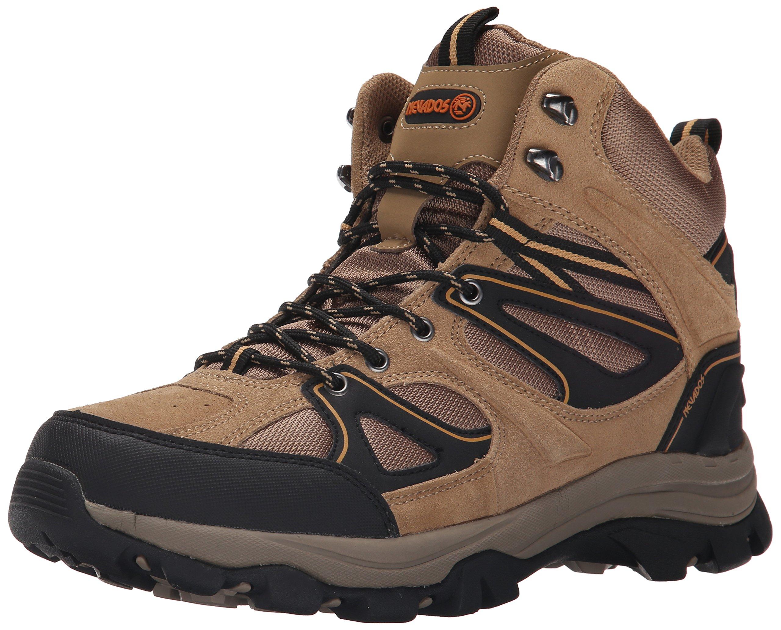 Nevados Men's Talus Hiking Boot, Light Brown/Light Brown/Black, 13 M US