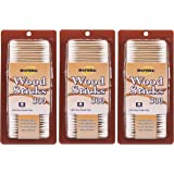 Royal Wood Stick Cotton Swabs 3 Boxes - Total 900 Count