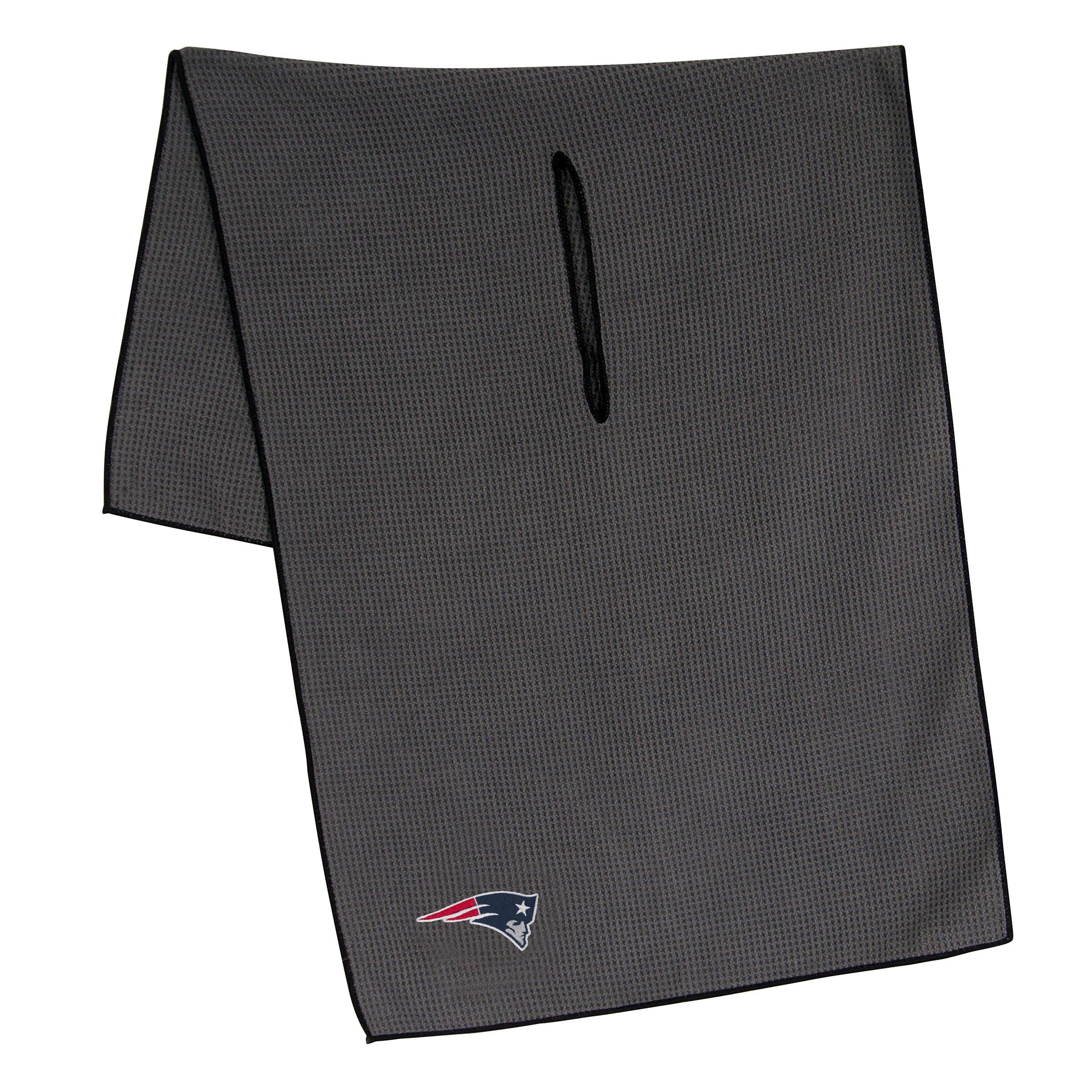 Team Effort NFL New England Patriots 19''x41'' Grey Microfiber Towel by Team Effort