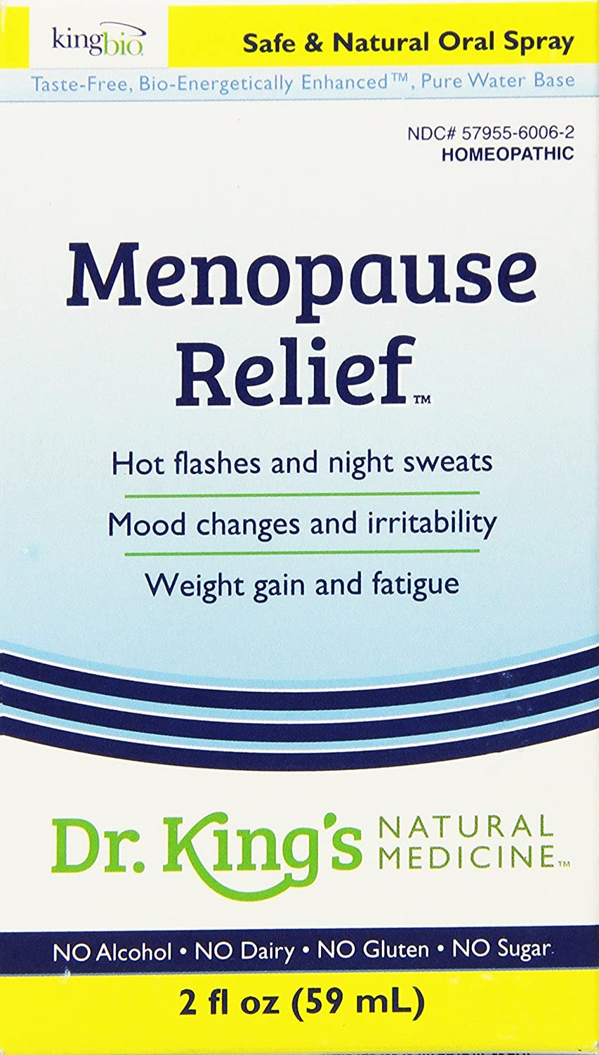 Amazon.com: Dr. King\'s Natural Medicine Menopause Relief, 2 Fluid ...