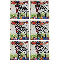 Maxwell & Williams Smile Style Ceramic Tile Coaster Betsy 9cm Placemat