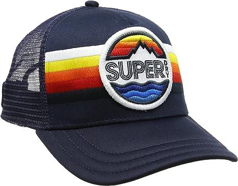 Superdry Super Upstate Cap, Gorra de béisbol para Hombre, Azul ...