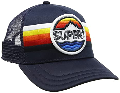 bc86ac85 Superdry Men's Super Upstate Cap Baseball (Sunset Blue WTY), One Size