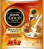 ネスカフェ ゴールドブレンド ポーション 贅沢キャラメルマキアート 7個×6袋