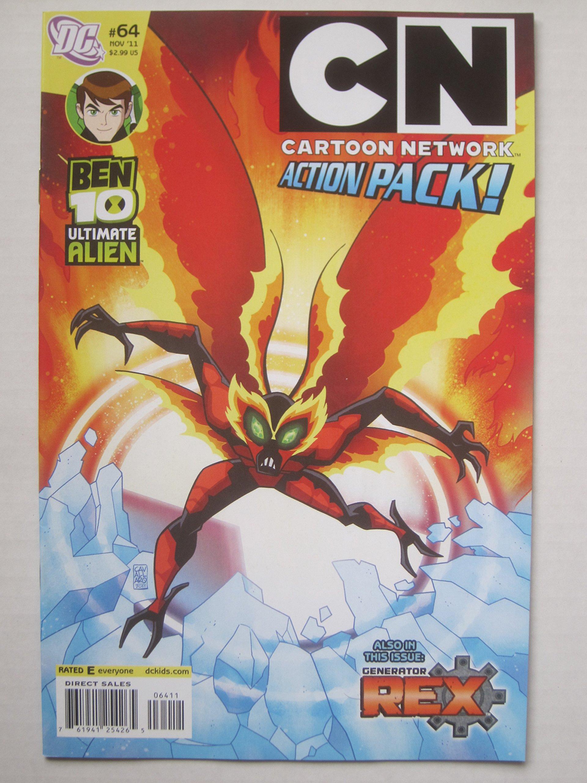 Cartoon Network Action Pack #64, November 2011 pdf epub