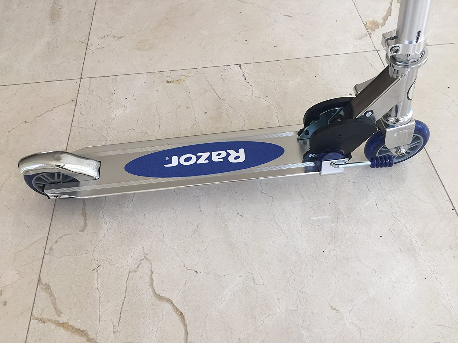 Scooter Kickstand Functional Blue stand by Scooter Rizer