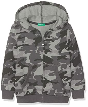 United Colors of Benetton Jacket W/Hood L/s, suéter para Niños,