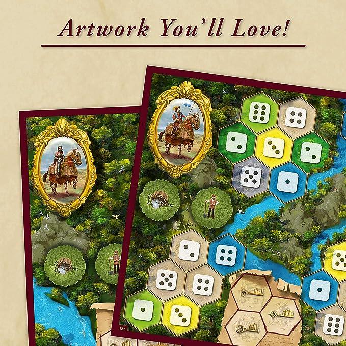 Ravensburger The Castles of Burgundy - Versión española, Strategy Game, 1-4 Jugadores, Edad recomendada 12+ (26925): Feld, Stefan: Amazon.es: Juguetes y juegos