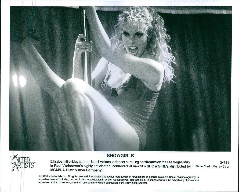 "New Giclée Art Print of 1995 Movie Promo of /""Showgirls/"" Elizabeth Berkley"