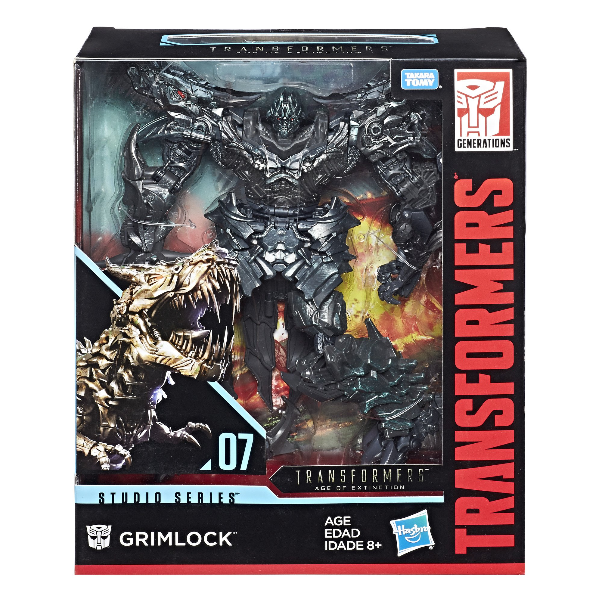 Transformers Studio Series 07 Leader Class Movie 4 Grimlock by Transformers (Image #3)
