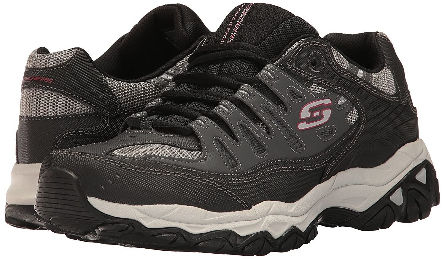 Skechers-Afterburn-Memory-Foam-M-Fit-Men-039-s-Sport-After-Burn-Sneakers-Shoes thumbnail 47