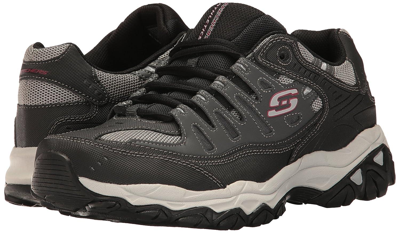 Skechers-Afterburn-Memory-Foam-M-fit-Men-039-s-Sport-After-Burn-Baskets-Chaussures miniature 47