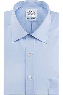 f85b29293614 Eagle Men's Dress Shirt Regular Fit Non Iron Solid French Cuff at ...