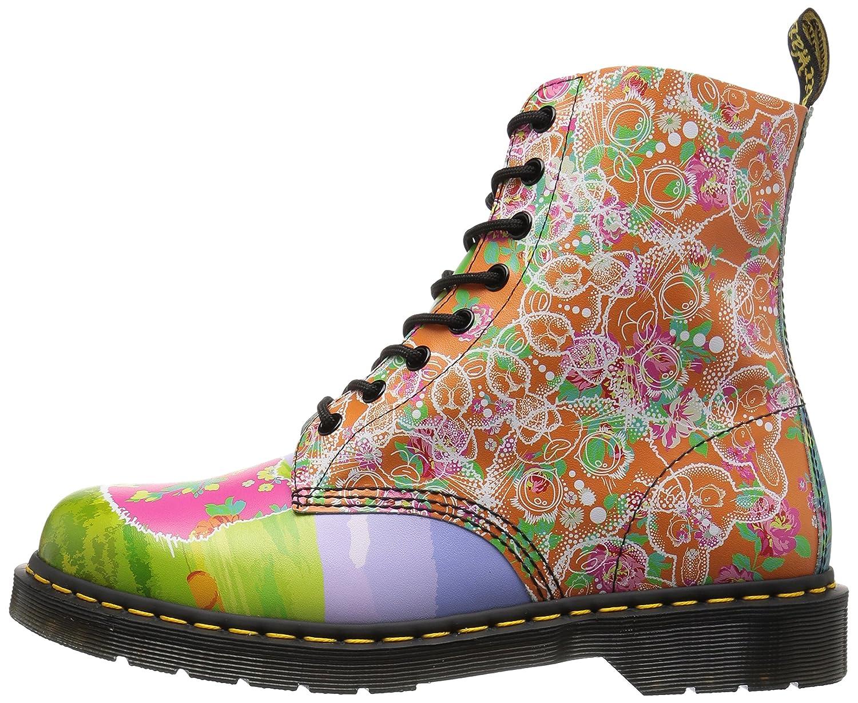 Dr. Martens Women's Pascal Daze in Backhand Leather Fashion Boot B01MU5QXHK 5 Medium UK (7 US)|Multi Daze
