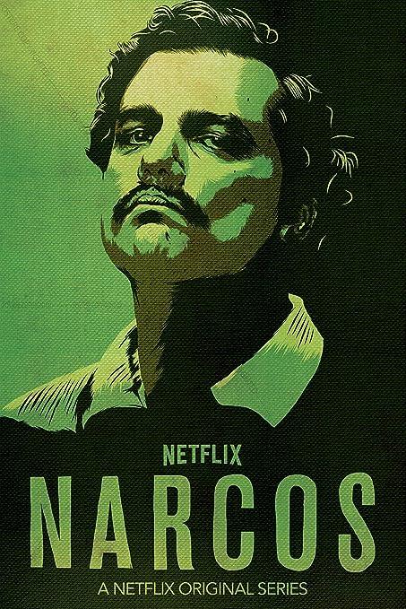 postere narcos pablo escobar poster premium fanart netflix series