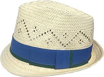 Headchange Toyo Fedora Vented Crown Straw Golf Beach Trilby Hat 2e8d4603ca66