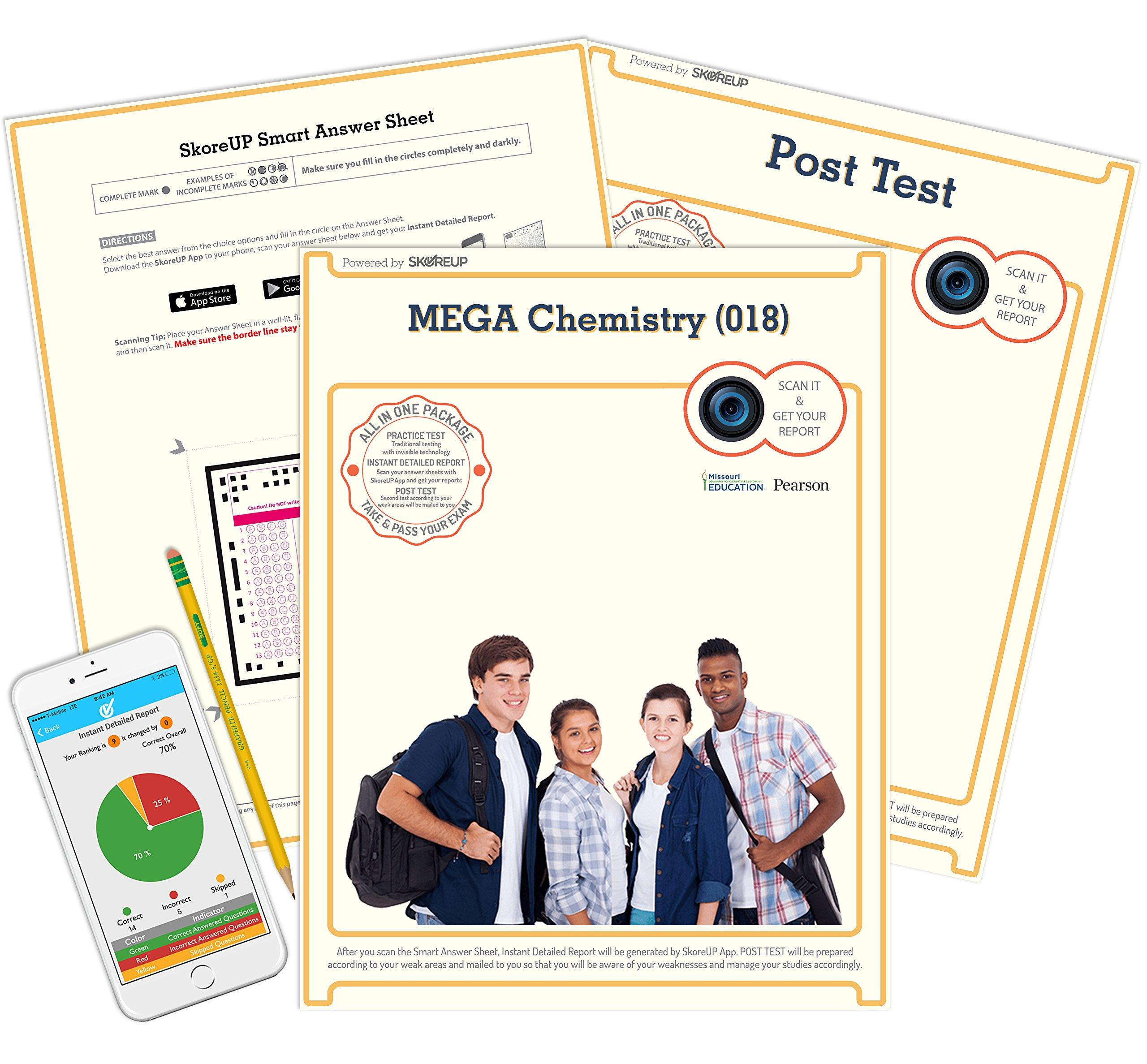 MEGA Chemistry (018) Exam, Missouri Educator Gateway