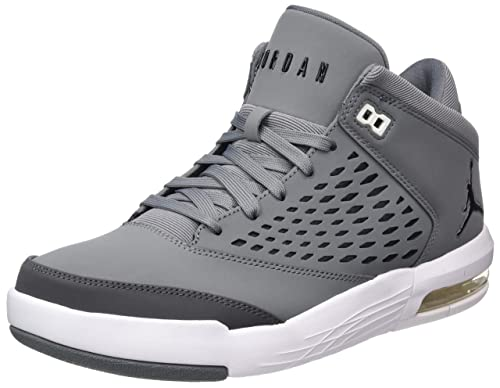 Mens Jordan Flight Origin 4 Basketball Shoes, Night Stadium/Dk Elctrc Bl-VLT Nike