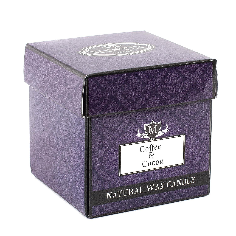 mystix Londres | café & cacao–Vela aromática grande CAND29CLFOCOCO