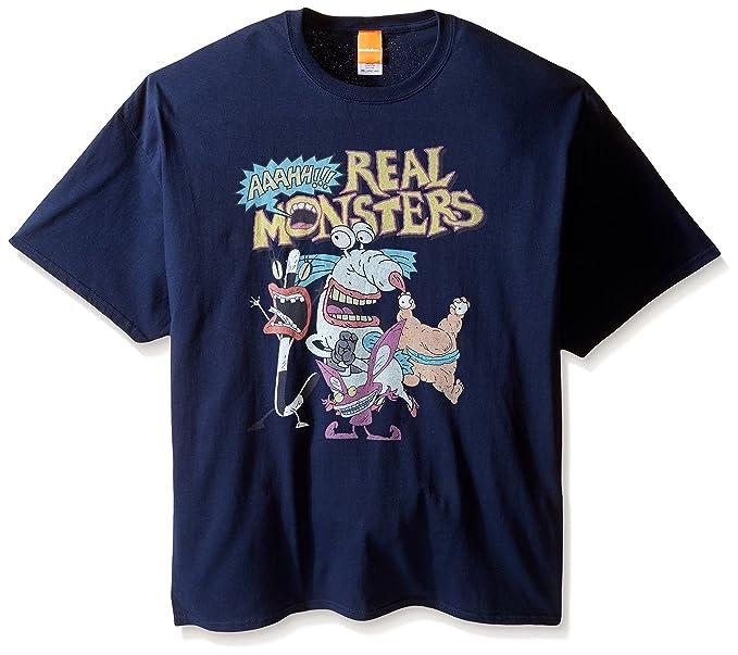 48b10b93d95 Amazon.com  Nickelodeon Men s Aaahh!! Real Monsters Men s T-Shirt ...