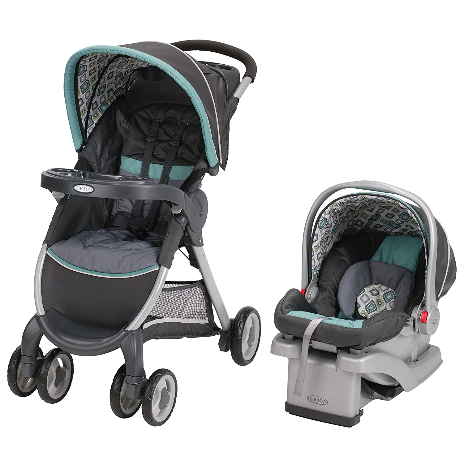 Amazon Graco Fastaction Fold Connect Travel System