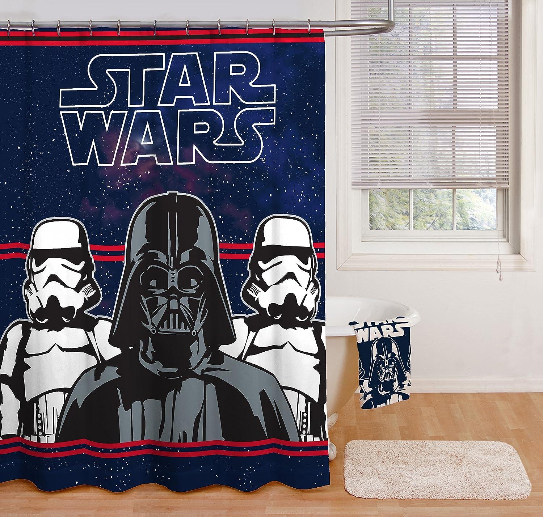 Darth Vader Star Wars Blackout Roman Curtain Rod Pocket Panel 23 x 64 Inch Roman Curtain