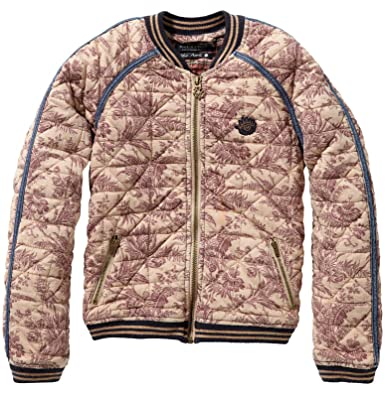 bc1b1b21c Scotch R  Belle Girls  Bomber Jacket with Print - Multicolour ...