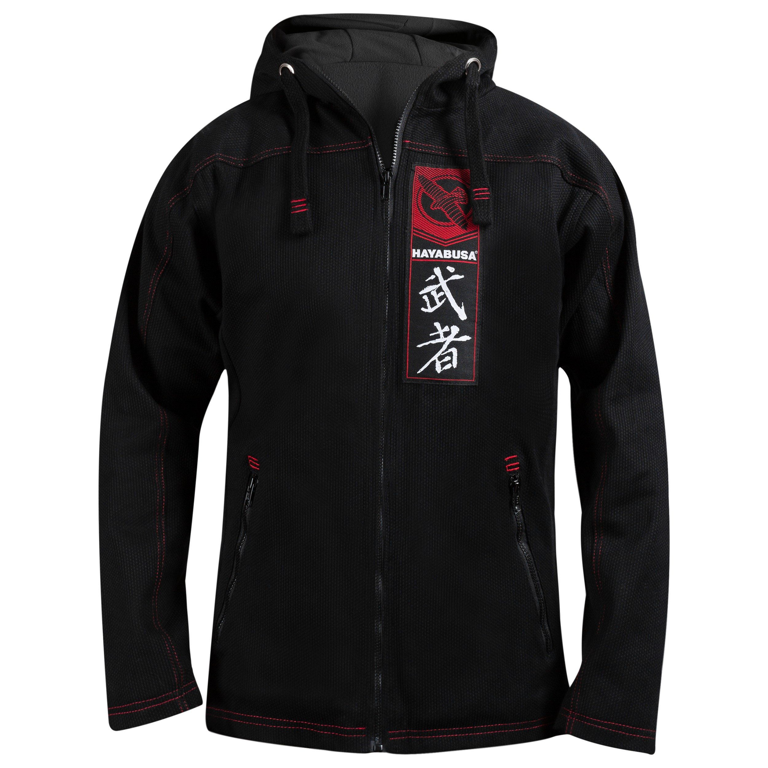 Hayabusa Cotton Uwagi Pro Gi Jacket 2.0, Black, Medium by Hayabusa