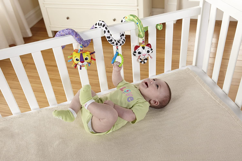 Lamaze Activity Spiral Clip On Pram and Pushchair Baby Toy: Lamaze