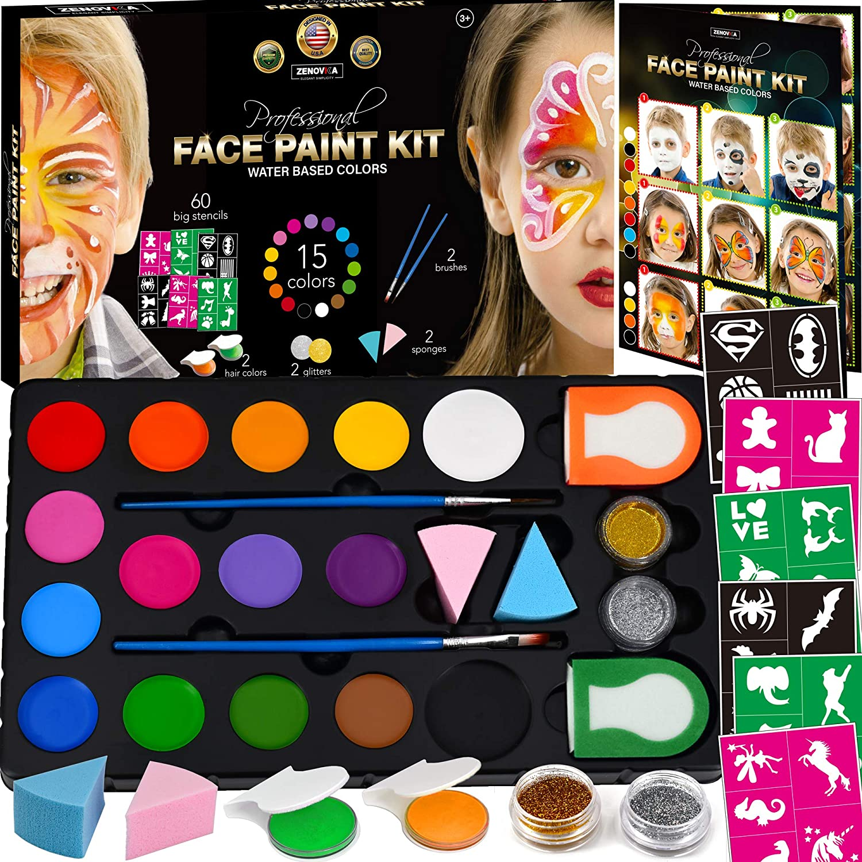 Basic Face Paint Art