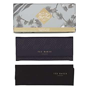 new concept d61d6 60d5f Ted Baker Glasses Case With Cleaning Cloth, Cadet Blue