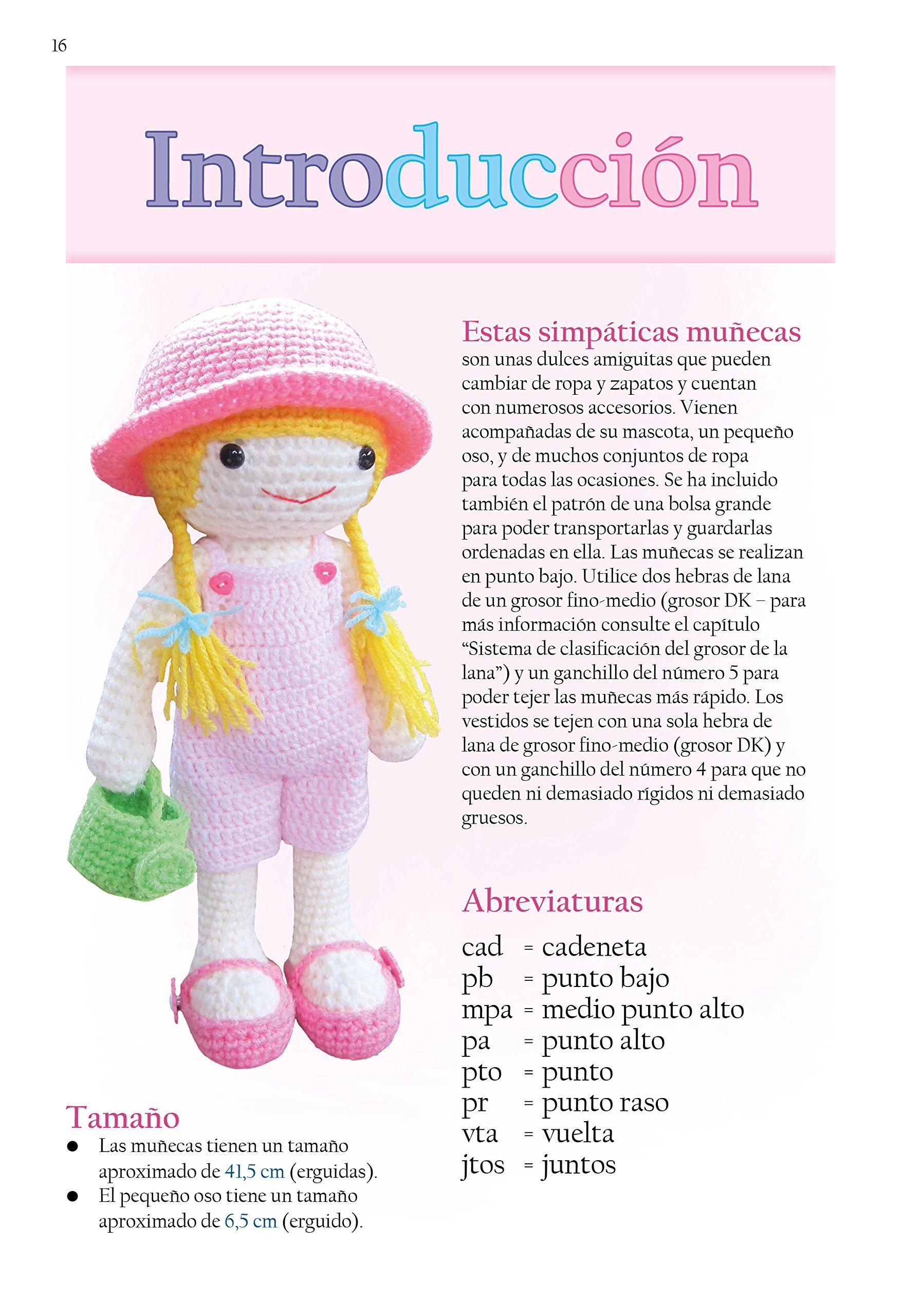 Muñecas con Vestidos: Patrones de Amigurumi en Ganchillo Patrones de ...