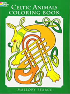 Celtic Animals Colouring Book Dover Coloring Books
