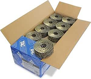 Tacwise 0424 Bobina plana de clavos anillados 2.5/55 mm, 2.5/55mm, Set de 9000 Piezas: Amazon.es: Bricolaje y herramientas