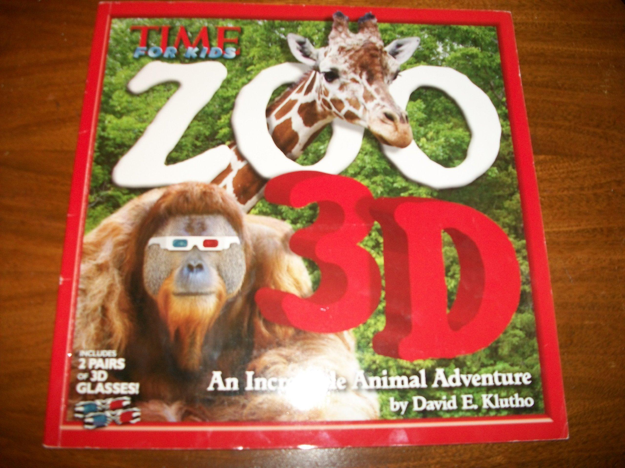 Read Online Zoo 3d, an Incredible Animal Adventure PDF