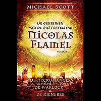 De geheimen van de onsterfelijke Nicolas Flamel 2: De necromancer, De warlock en De zieneres samen in 1 band