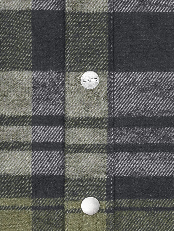 LA Police Gear 100/% Preshrunk Cotton Soft Comfortable Mid Weight Vanguard Flannel