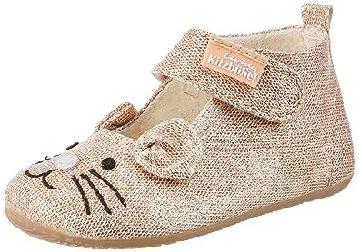 Living Kitzbühel Baby Mädchen Ballerina Katze Lauflernschuhe, Gold  (Imperial), 26 EU