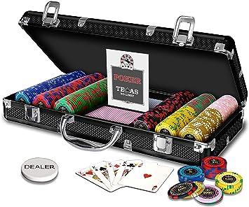 Caja Poker Royal 300 fichas: Amazon.es: Juguetes y juegos