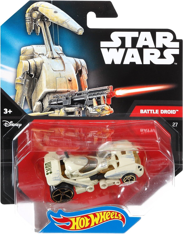 64 Star Wars Hot Wheels Admiral Ackbar Fahrzeug im Ma/ßstab 1