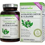 NatureWise Total Colon Care: Advanced Detox & Cleanse with Digestive Enzymes for Colon Health & Weight Loss, 30 to 60-Day Supply, 60 Count