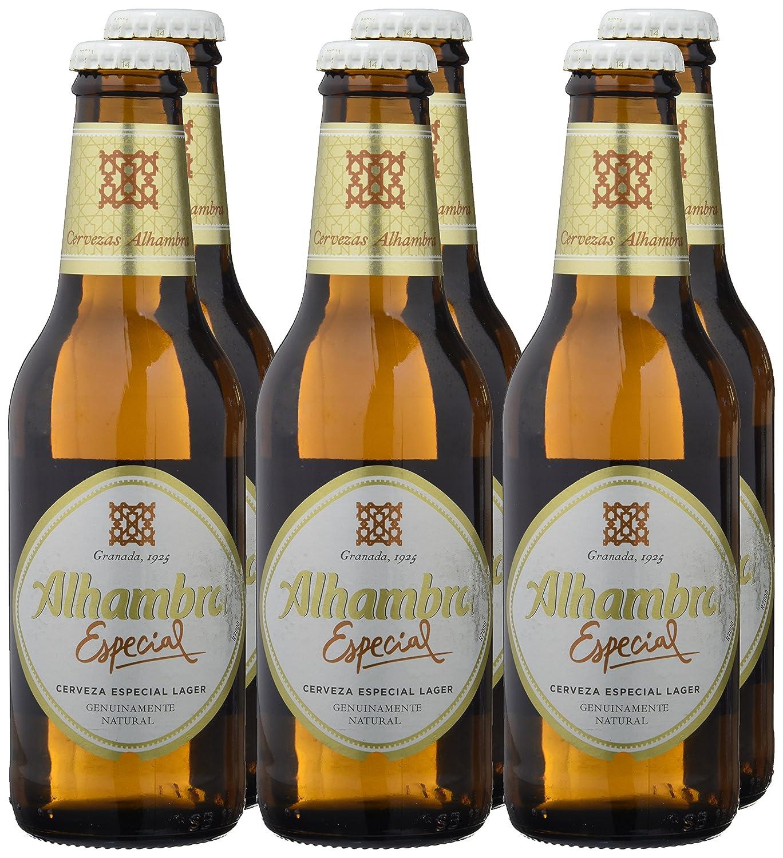 Alhambra Especial Cerveza con Alcohol - Paquete de 6 x 250 ml - Total: 1500 ml: Amazon.es: Amazon Pantry
