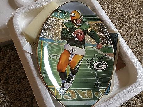 Amazon.com: Brett Favre Green Bay Packers la placa de ...