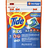 Tide PODS Original Scent HE Turbo Laundry Detergent Pacs, 31 Ounce