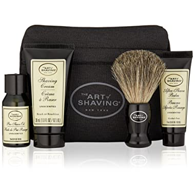 The Art of Shaving 4 Piece Mini Kit, Unscented