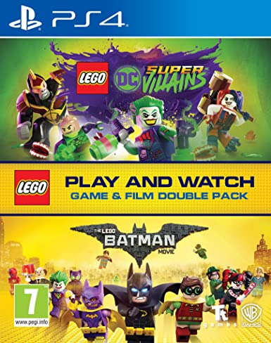 Lego DC Super-Villains Game & Film Double Pack - PlayStation 4 [Importación inglesa]: Amazon.es: Videojuegos