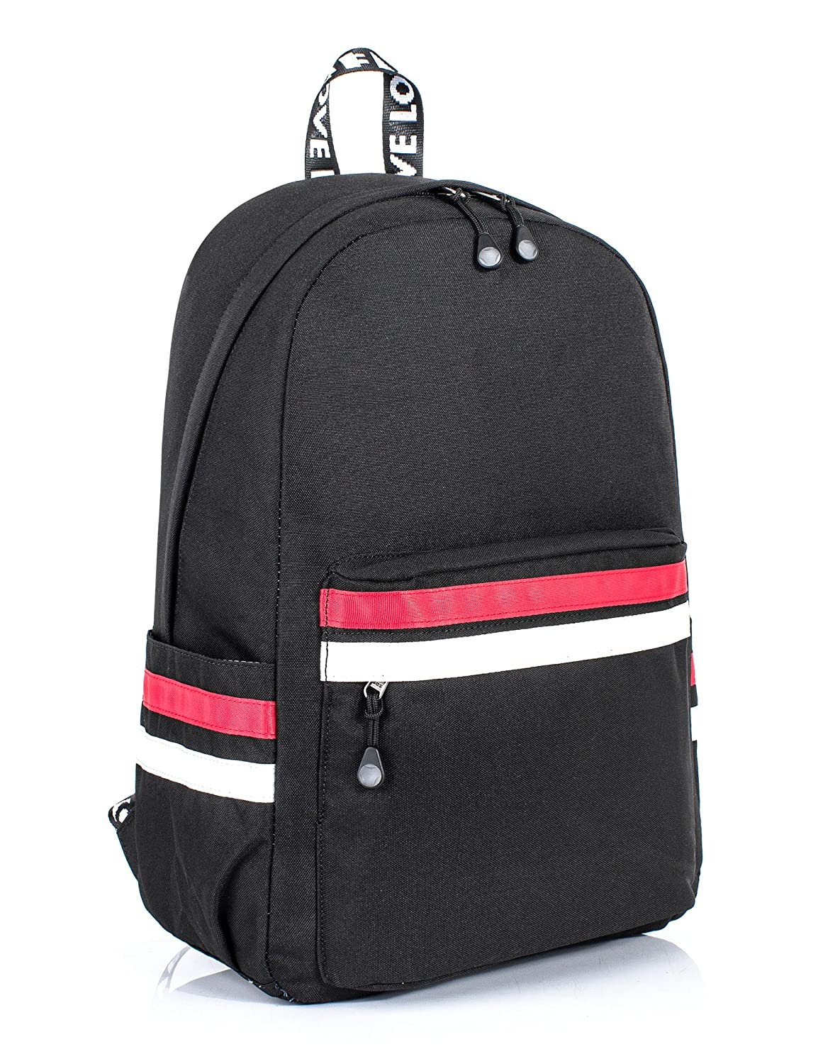 Amazon.com  Leaper Casual Laptop Backpack School Bag Shoulder Bag Travel  Daypack Handbag  Clothing 433f73e72d3e3